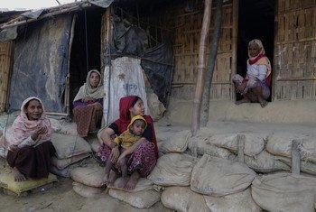 Refugiados rohingya em Cox's Bazar