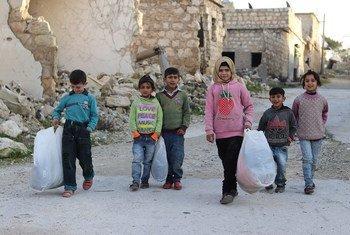 Analisando a atual situação no noroeste da Síria, a representante explicou que 2,7 milhões de pessoas precisam de ajuda humanitária, incluindo mais de um milhão de crianças.