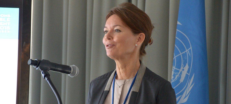 联合国全球契约负责人金丽莎