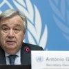 Secretário-geral, António Guterres