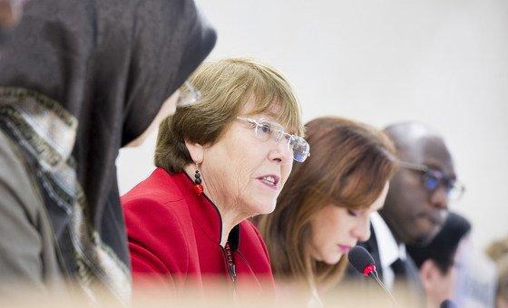Falando no Conselho de Direitos Humanos, Bachelet mencionou o Brasil.