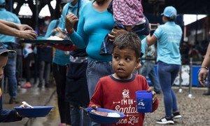 A agência destaca que as crianças e famílias deslocadas enfrentam desafios para regularizar o seu status imigratório