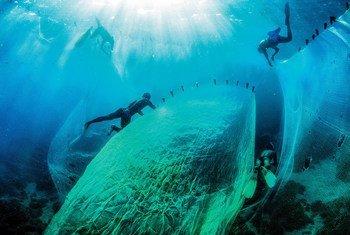 Pescadores en Magadascar.
