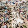 Вот сколько мусора собрали на пляже в Бали. Все это попадает в океан и убивает его обитателей.