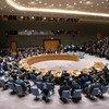 По просьбе США Совбез ООН собрался на чрезвычайное заседание, чтобы обсудить ситуацию в Венесуэле. 26 февраля 2019 года.