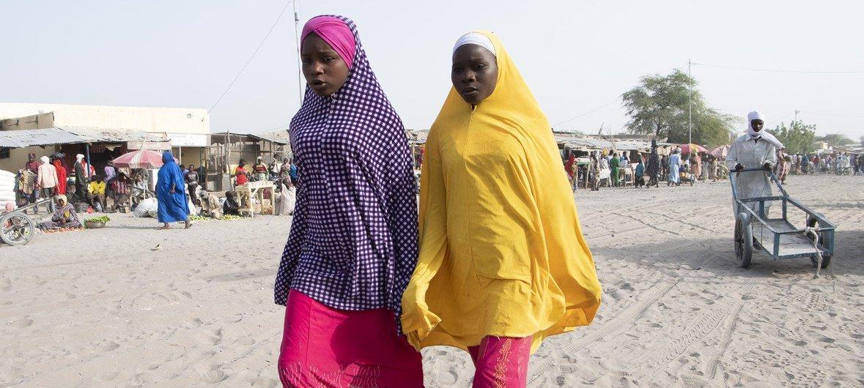Deux jeunes femmes tchadiennes (photo d'archives).