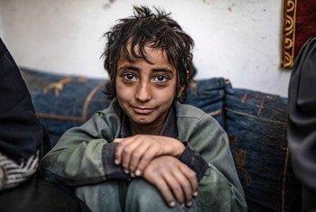 Muchos niños no van a la escuela en Yemen por la guerra civil. (Febrero 2019)