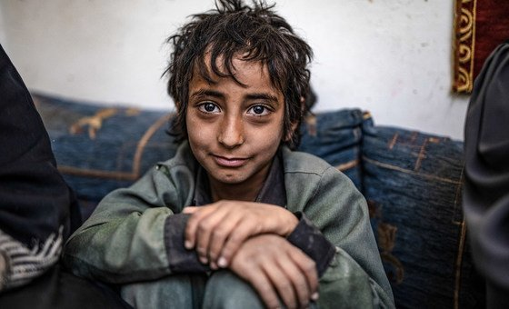 Many children are not being educated in Yemen due to the ongoing civil war. (February 2019)