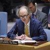 联合国叙利亚问题特使盖尔•佩德森 (Geir O. Pedersen)今天在安理会就叙利亚问题进行通报。
