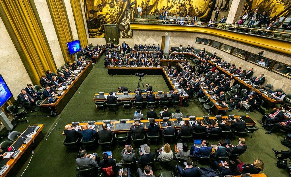 Segment de haut niveau de la Conférence du désarmement dans la Salle du Conseil du Palais des Nations à Genève - lundi 25 février 2019