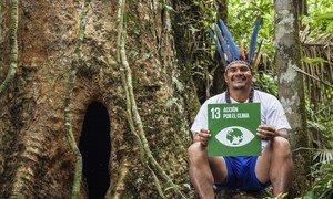 Comunidades indígenas são líderes na proteção do meio ambiente. Quase 70 milhões de mulheres e homens indígenas dependem das florestas para sua subsistência, e muitos mais são agricultores, caçadores ou pastores.
