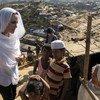 Анджелина Джоли, спецпосланник УВКБ, посетила лагерь беженцев в Кокс-базаре, в Бангладеш