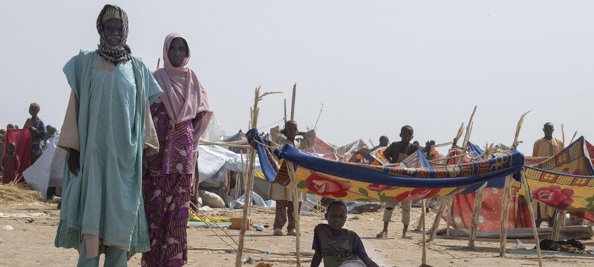 2019年1月极端组织博科哈拉姆发动袭击后,约3万5000名尼日利亚难民抵达喀麦隆东北部的古尔村。