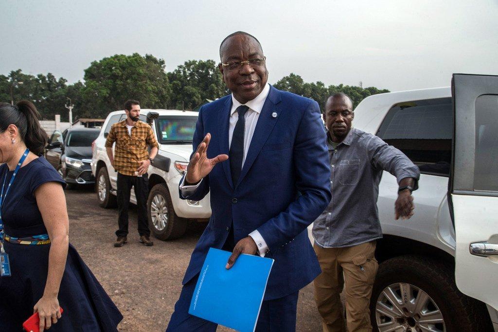 Mankeur Ndiaye, le nouveau Représentant spécial du Secrétaire général pour la République centrafricaine, arrive à Bangui pour prendre ses fonctions.