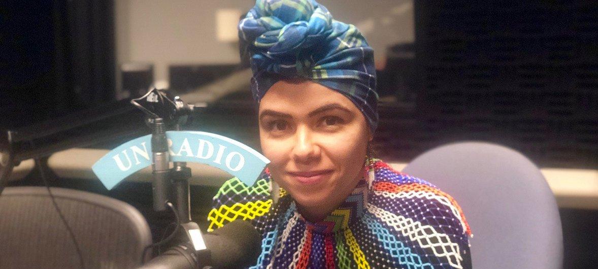 آية شابي، مبعوثة الشباب في الاتحاد الإفريقي، في حوار مع أخبار الأمم المتحدة.