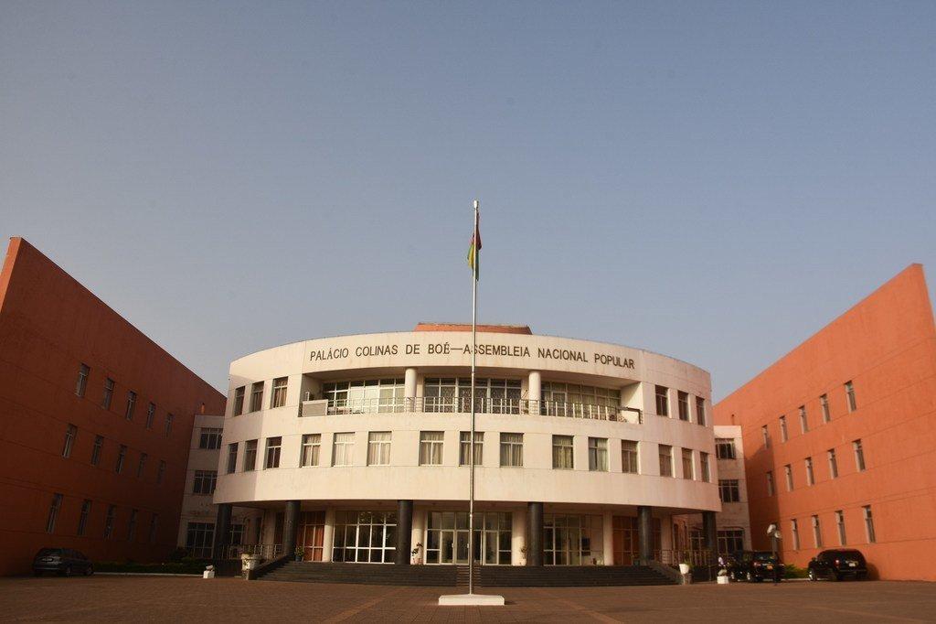 Palácio Colinas de Boé, edifício da Assembleia Nacional Popular da Guiné-Bissau.