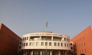Palacio Colinas de Boe, People's National Assembly Building of Guinea-Bissau.