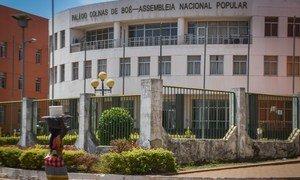 Sede da Assembleia Nacional da Guiné-Bissau em Bissau.