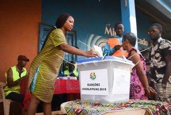 Cooperação da ONU com a Guiné-Bissau incluiu apoio ao ciclo eleitoral de 2019.