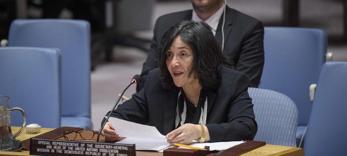 कांगो लोकतांत्रिक गणराज्य में यूएन मिशन की प्रमुख लैला ज़ेरूगी.