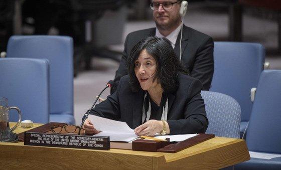 Специальный представитель Генсека ООН в Демократической Республике Конго Лейла Зерруги выступила в Совете Безопасности.