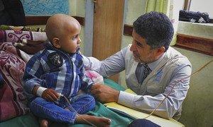 世界卫生组织东地中海区域办事处主任艾哈迈德·曼达里(Dr Ahmed Al-Mandhari)。