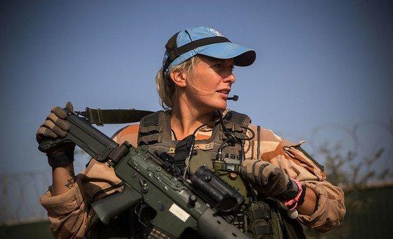 В 2018 году 25 женщин были направлены в миссию ООН в Мали в составе батальона из 252 шведских военнослужащих