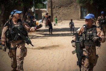 Guterres confirma que o número de mulheres nas missões de paz duplicou mas considera que é necessário ir mais longe .