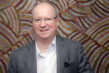 Professor Richard Mattick, a Board Member of the International Narcotics Control Board (INCB).