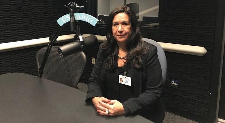 Lina Pohl, ministra del Medio Ambiente y los Recursos Naturales de El Salvador