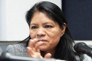 Marcelina Bautista, fundadora del Sindicato Nacional de Trabajadores y Trabajadoras del Hogar en México