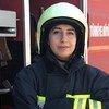 Merve Erbay是一名女消防员。她为土耳其议会服务。