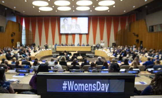 United Nations Observance of International Women's Day: