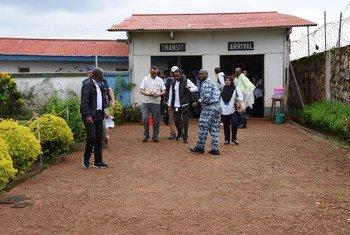 WHO Director General Tedros Adhanom in Beni, North Kivo, Democratic Republic of the Congo. (File)