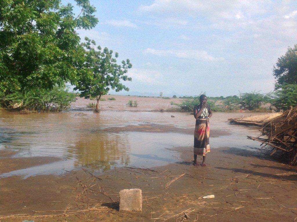 马拉维屡遭受严重洪灾。图为2015年一次洪水过后的景象。