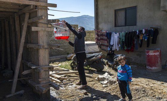 الطفلة وفاء وأفراد أسرتها وصلوا إلى لبنان عام 2014، فرارا من بلدتهم قرب حمص بسبب تدهور الأوضاع الأمنية.