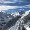Vista de las montañas rocosas en la localidad de Telluride, en Colorado, Estados Unidos.