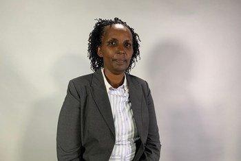 Emma Rubagumya, mbunge katika Bunge la Rwanda katika mahojiano na UN News Kiswahili kandoni mwa Mkutano wa 63 wa Kamisheni ya hali ya wanawake CSW.