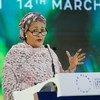 Amina Mohammed falou esta quinta-feira aos delegados da Assembleia Geral das Nações Unidas para o Meio Ambiente, Unea, que acontece em Nairóbi, no Quênia