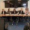 """من الأرشيف: """"عدالة النوع الاجتماعي والقانون، تقييم القوانين المؤثرة على المساواة بين الجنسين في الدول العربية"""" كان عنوانا لمنتدى رفيع المستوى بمقر برنامج الأمم المتحدة الإنمائي على هامش أعمال الدورة الثالثة والستين للجنة وضع المرأة."""