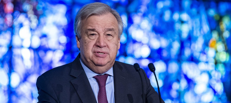 Secretário-geral da ONU, António Guterres disse que é preciso exercer moderação máxima na Guiné-Bissau.