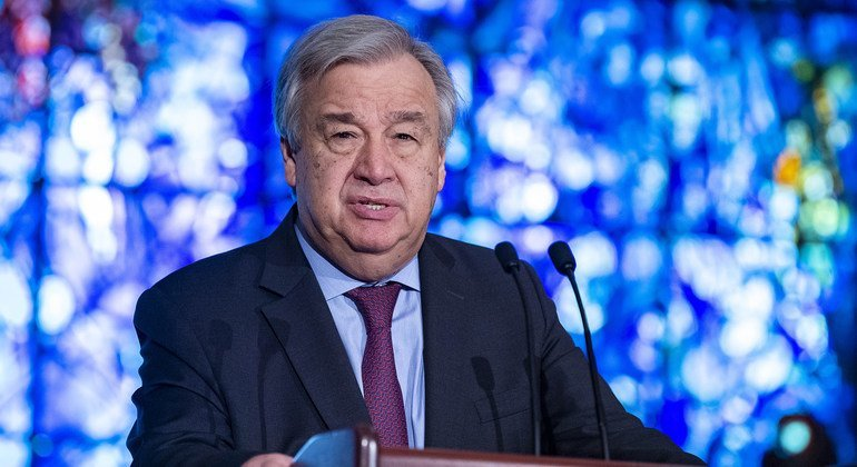 UN chief encouraged by release of Cameroon opposition leader