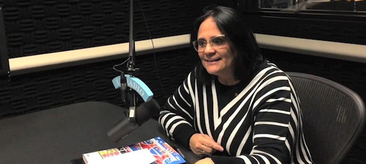 A ministra Damares Alves participa da 63ª Sessão da Comissão sobre o Estatuto da Mulher, CSW63, na sede da ONU em Nova Iorque.