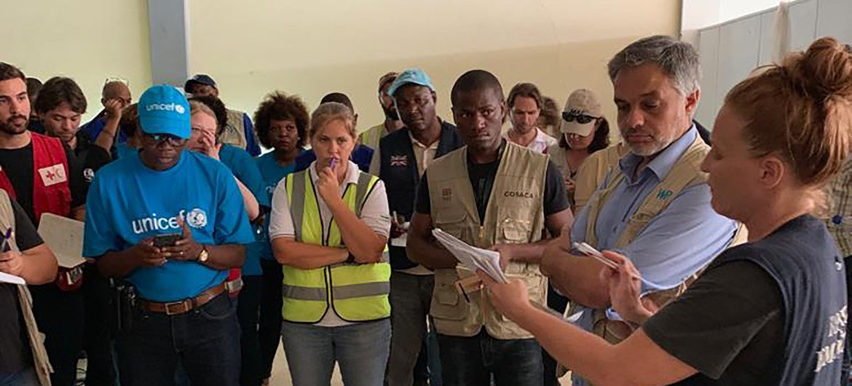 ONU e parceiros humanitários na linha de frente da ação pós-ciclone em Moçambique