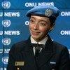Márcia Andrade Braga foi a vencedora do Prêmio de Defensora Militar do Gênero das Nações Unidas