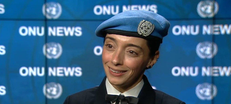 Márcia Andrade Braga, lauréate du Prix des Nations Unies pour la promotion de l'égalité des sexes 2019.