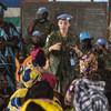 Brazilian peacekeeper Lieutenant Commander Marcia Andrade Braga serves in the UN Multidimensional Integrated Stabilization Mission in the Central African Republic (MINUSCA).