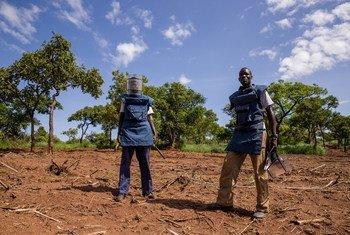 Саперы ООН в Южном Судане