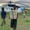 Pma distribui ajuda alimentar em Búzi e Guaraguara