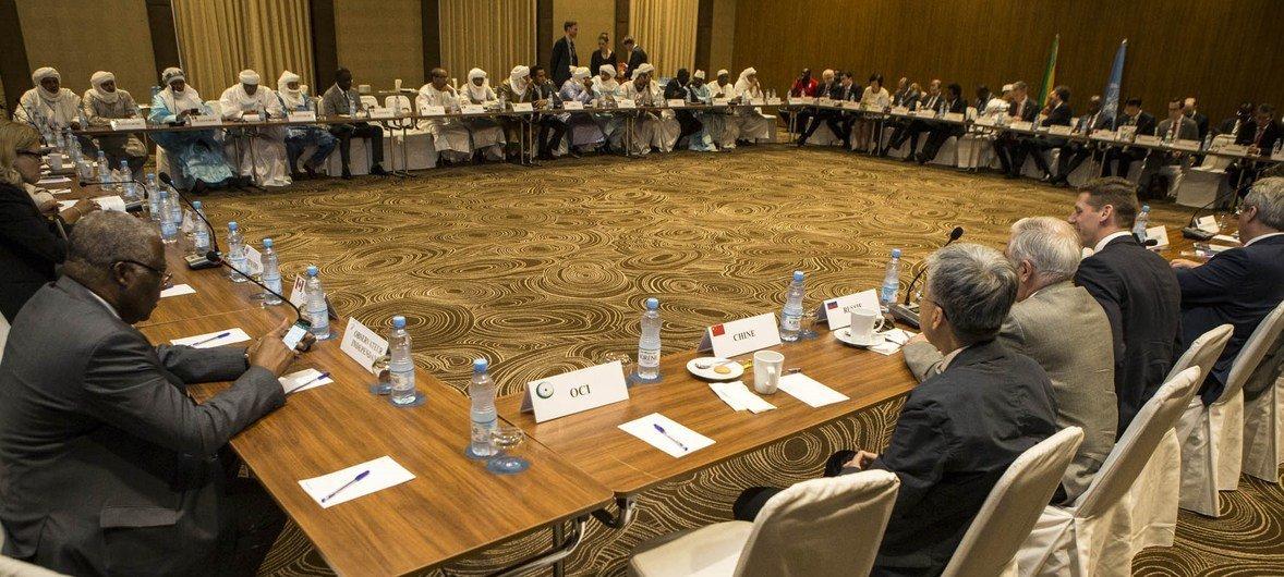 La délégation du Conseil de sécurité des Nations Unies rencontre le Comité de suivi de l'accord de paix malien (CSA).